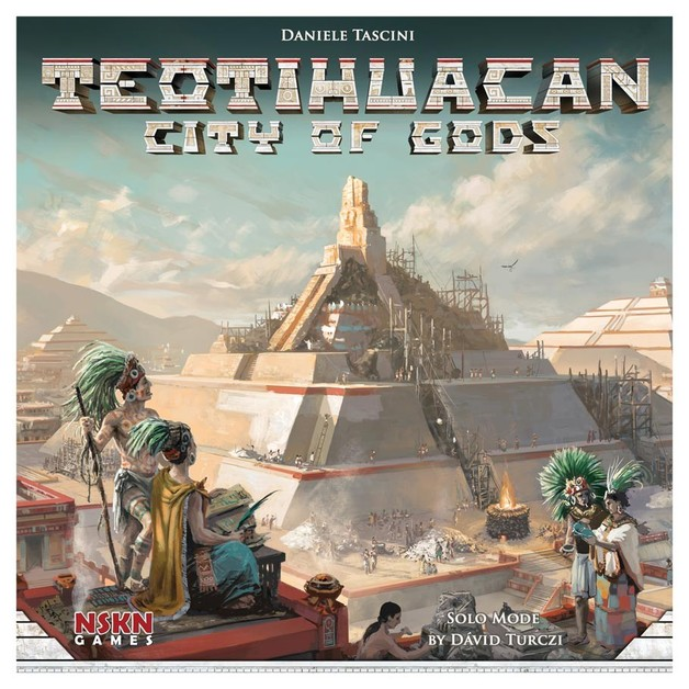 Teotihuacan: City of Gods - Board Game