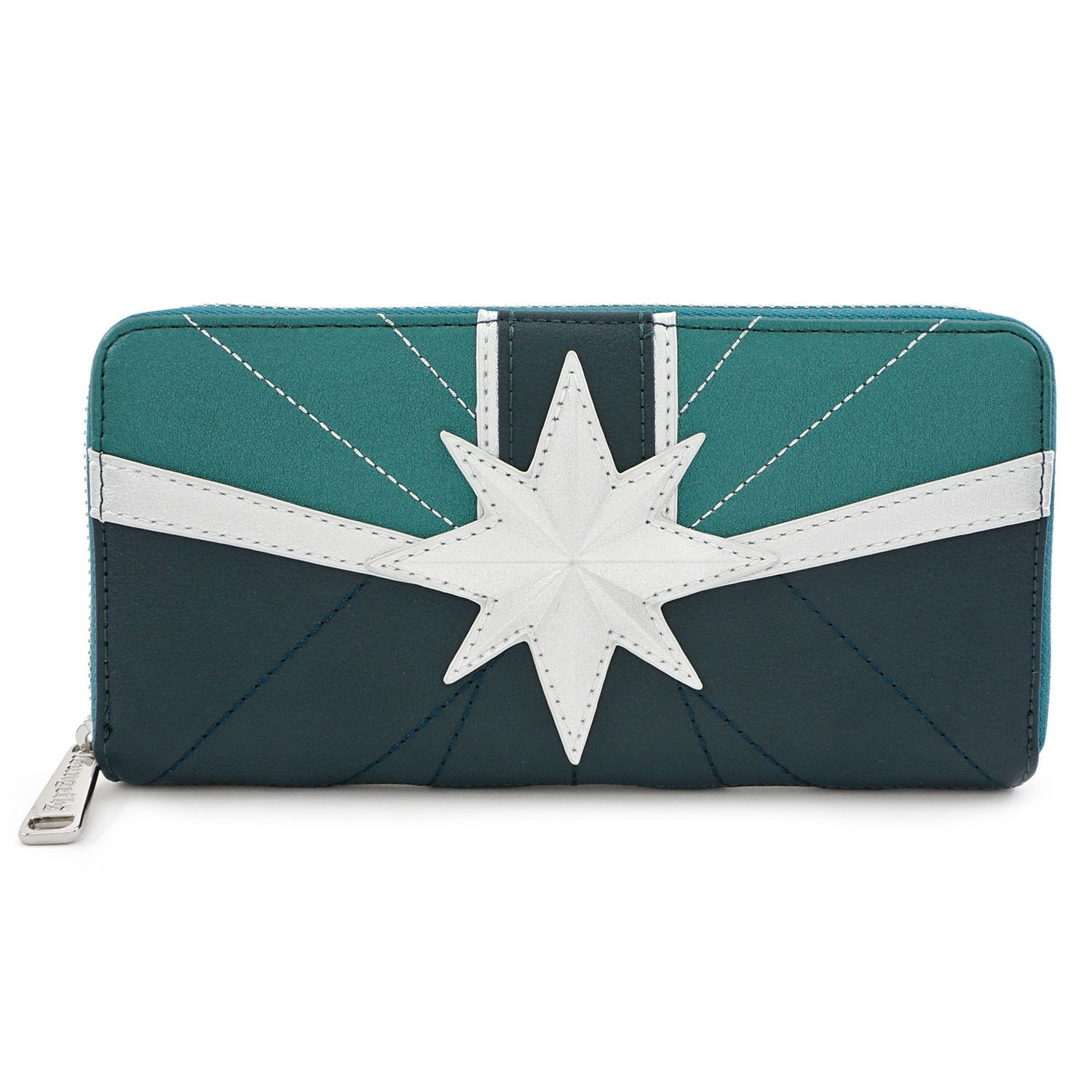 Loungefly: Captain Marvel - Star Emblem Zip-Around Wallet image