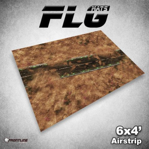 FLG Airstrip Neoprene Gaming Mat (6x4)