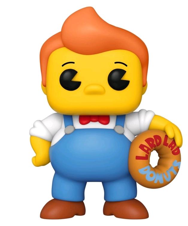 """The Simpsons: Lard Lad - 6"""" Pop! Vinyl Figure"""