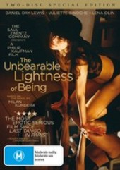 Unbearable Lightness Of Being, The - Special Edition (2 Disc Set) on DVD