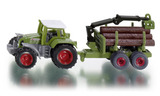Siku: Fendt Tractor with Forestry Trailer