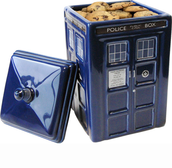Doctor who tardis ceramic cookie jar at mighty ape nz - Tardis cookie jar ...