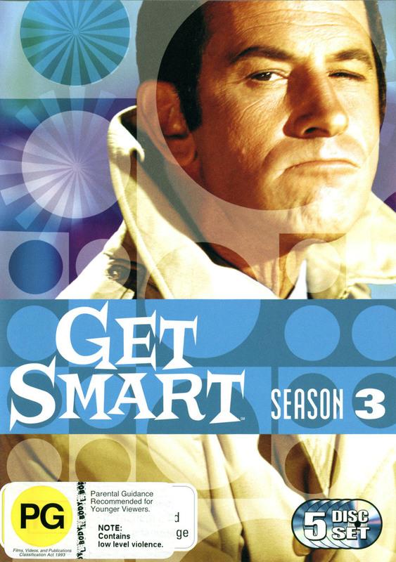 Get Smart (1965) - Season 3 (5 Disc Set) on DVD