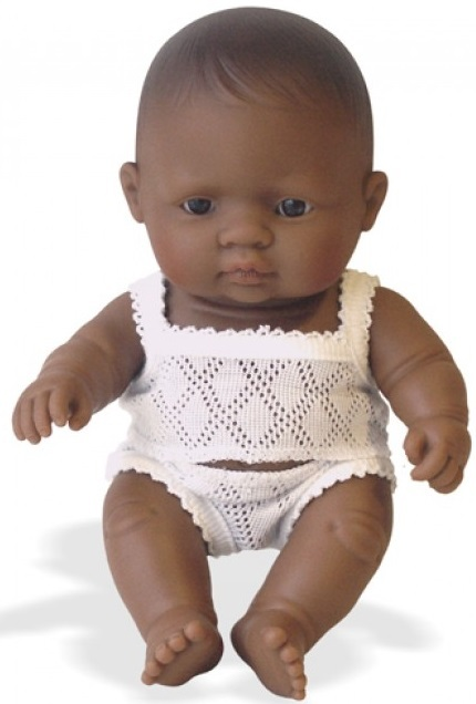 Miniland: Anatomically Correct Baby Doll - Latin American Girl (21cm) image