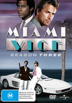 Miami Vice - Season 3 (6 Disc Set) on DVD