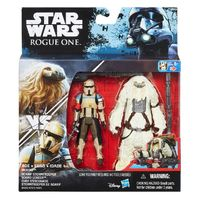 "Star Wars Rogue One: Scarif Stormtrooper & Moroff - Deluxe 3.75"" Figure 2-Pack"