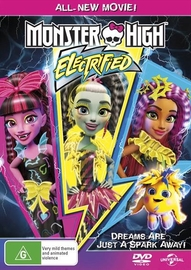 Monster High: Electrified on DVD