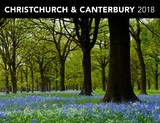 Christchurch & Canterbury 2018 Horizontal Wall Calendar