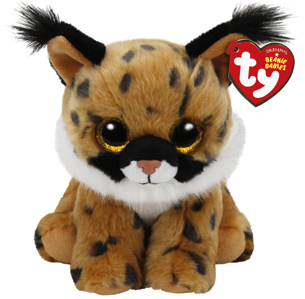 Ty Beanie Babies: Larry Lynx - Small Plush