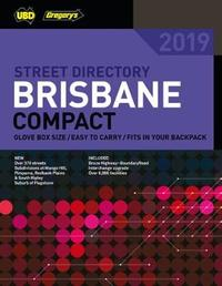 Brisbane Compact Street Directory 2019 19th ed by UBD / Gregory's