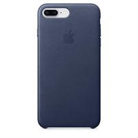 iPhone 8 Plus Leather Case - Midnight Blue