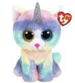 Ty Beanie Boo: Heather Cat - Large Plush