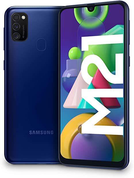 Samsung Galaxy M21 Dual 4G (64GB/4GB RAM) - Midnight Blue
