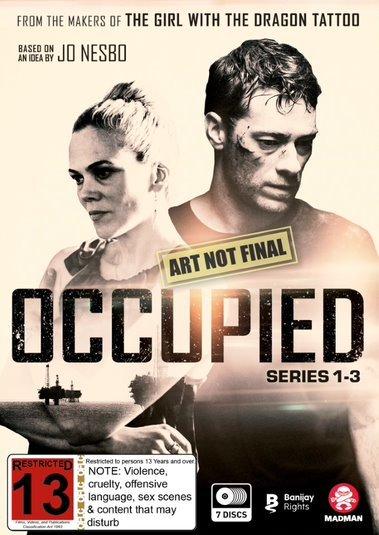 Occupied: Seasons 1-3 - Boxset on DVD