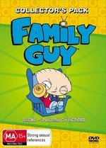 Family Guy Box Set - Season 1-5 (13 Discs) on DVD