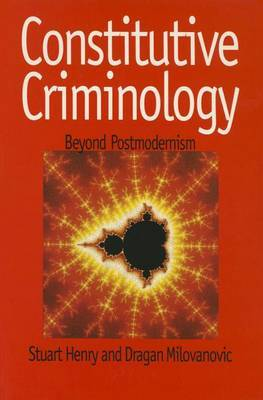 Constitutive Criminology by Stuart Henry image