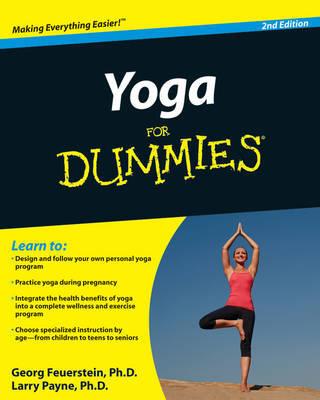 Yoga For Dummies by Georg Feuerstein, PhD