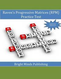 Raven's Progressive Matrices (RPM) Practice Test by Bright Minds Publishing image
