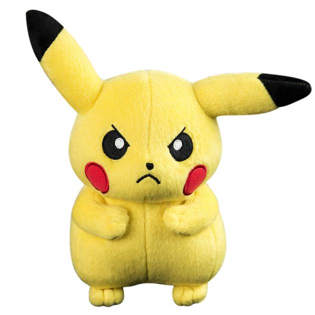 Pokémon 20cm Plush - Pikachu (Angry)