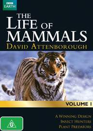 David Attenborough's Life of Mammals - Volume 1 on DVD image
