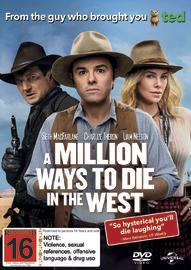 A Million Ways to Die in the West on DVD
