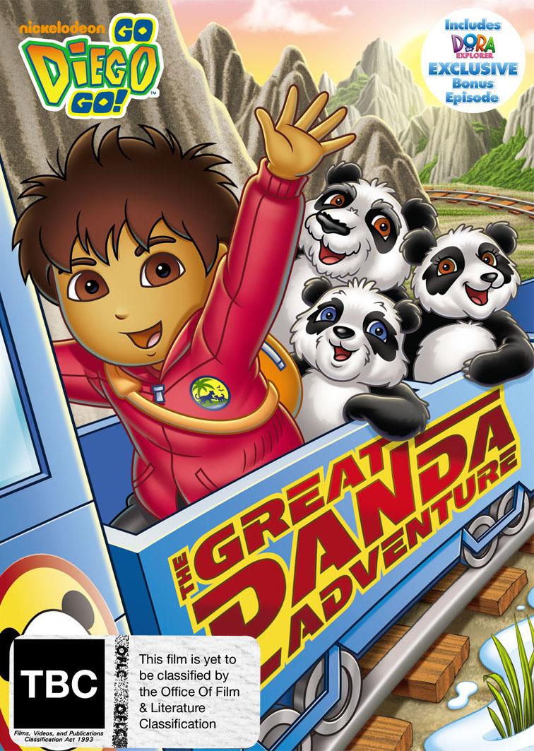Go Diego Go!: The Great Panda Adventure on DVD image