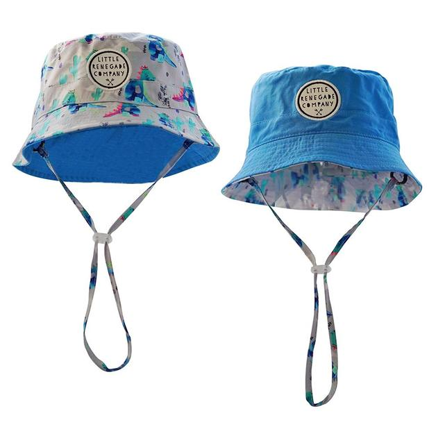 Little Renegade Company: Dinoroar Reversible Bucket Hat - Maxi