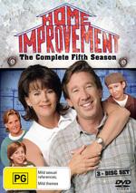 Home Improvement - Complete Season 5 (3 Disc Set) on DVD