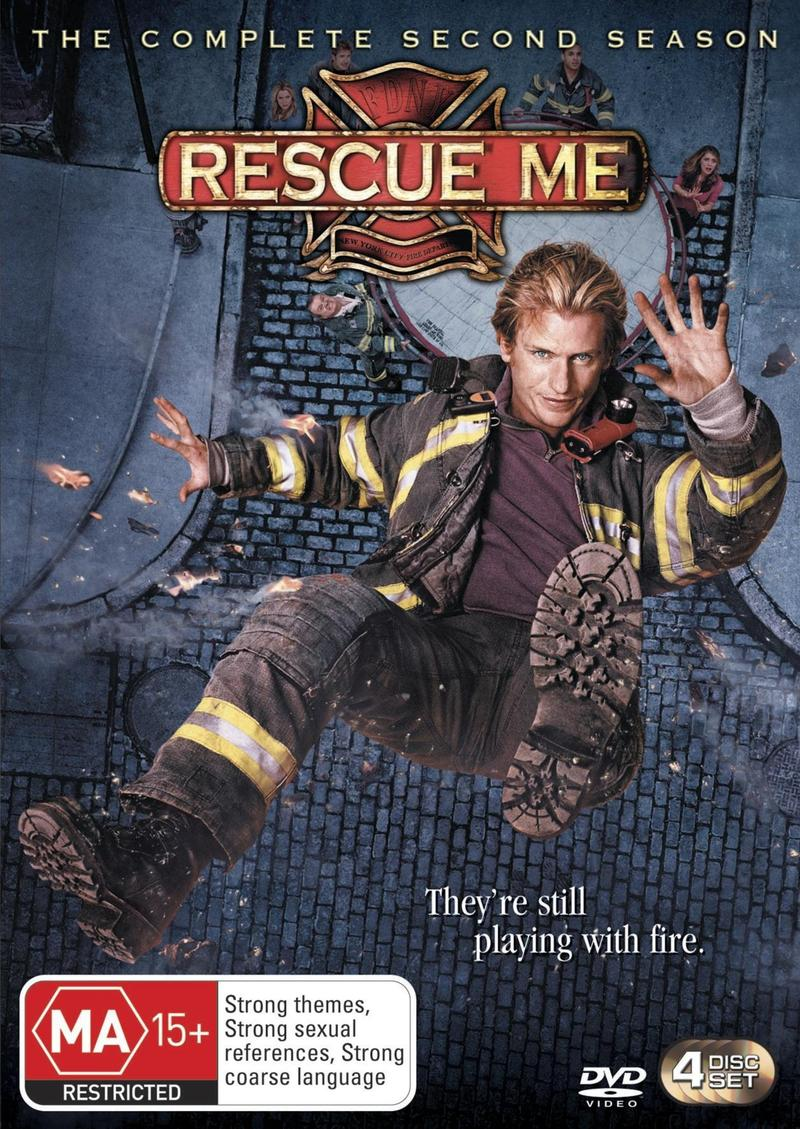 Rescue Me - Complete Season 2 (4 Disc Set) on DVD image