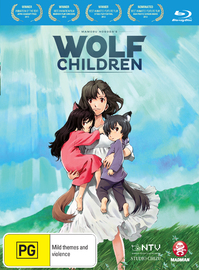 Wolf Children on Blu-ray