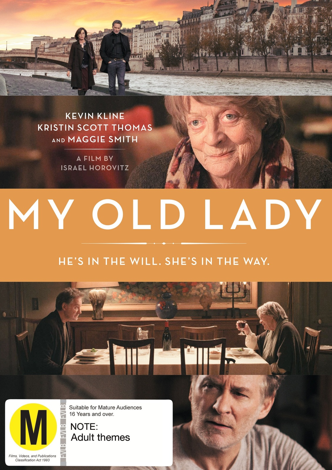 My Old Lady on DVD image