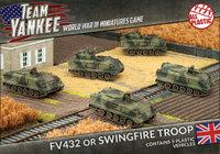 Flames of War: Team Yankee British FV432 Platoon (Plastic)