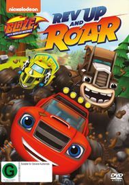 Blaze and the Monster Machines: Rev Up and Roar on DVD image
