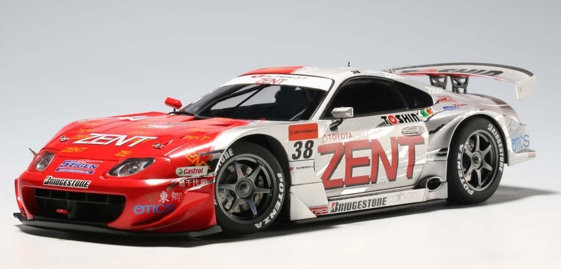 AUTOart: 1/18 '05 Supra Super GT No.38 Diecast Model image
