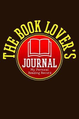 The Book Lovers Journal - My Personal Reading Record by Phil D Book Review