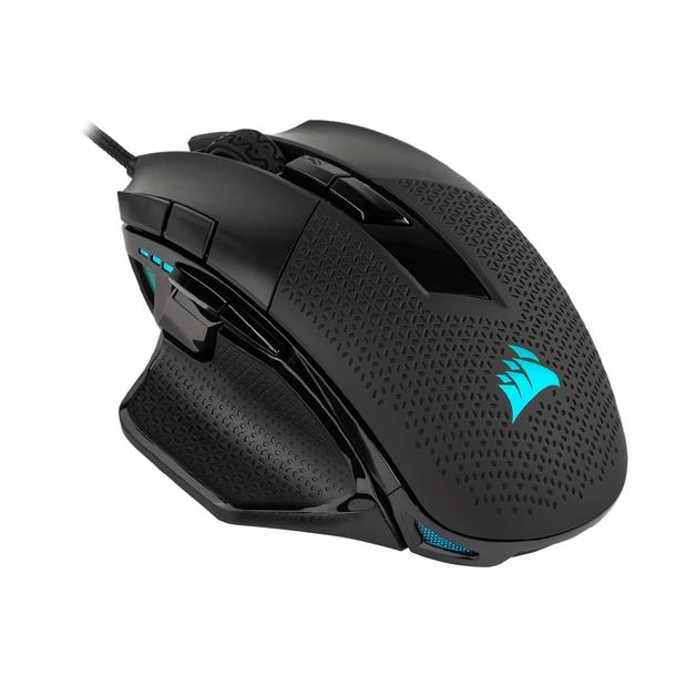 Corsair Nightsword RGB Tunable FPS/MOBA Optical Gaming Mouse for PC