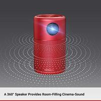 Anker Nebula Capsule Portable Projector - Red