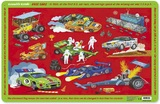 Crocodile Creek Placemat - Race Cars