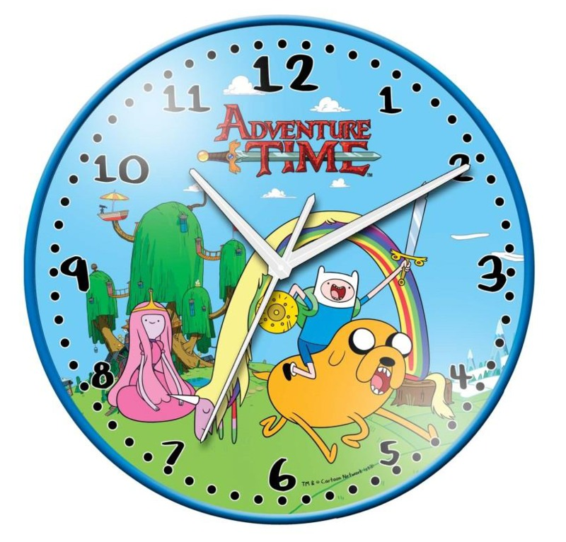 Adventure Time Wall Clock Image at Mighty Ape NZ
