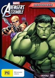 Avengers Assemble: Destroyers Season 1 Volume 2 on DVD