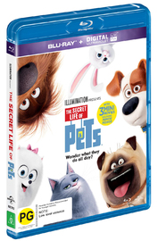 The Secret Life Of Pets on Blu-ray image