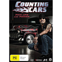 Counting Cars: Pick Ups and Ponies on DVD