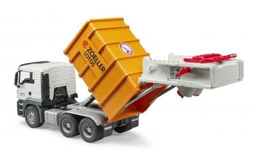 Bruder: MAN TGS Rear Loading Garbage Truck image