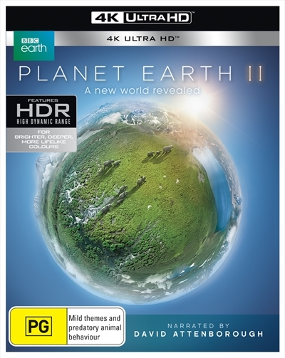 Planet Earth II on UHD Blu-ray image