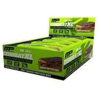 MusclePharm Combat XL Protein Bars - Peanut Butter Cup (12x90g)