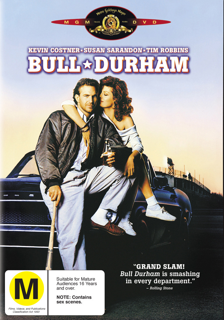 Bull Durham on DVD image