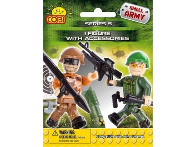 Cobi: Small Army - Single Figurine with an accessory- series 5