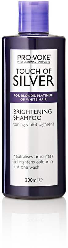Provoke Touch of Silver Brightening Shampoo (200ml)