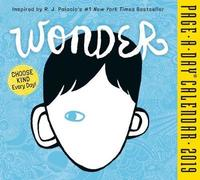 2019 Wonder Page-A-Day Calendar by R J Palacio